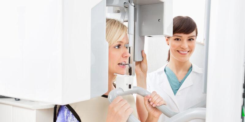 Panoramic Dental X-ray Digitales Röntgen (DVT) Ad Dento Meerbusch